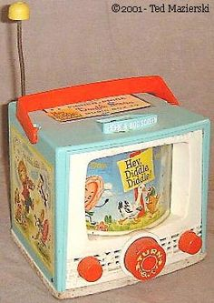 """My first radio by Fisher Price that played """"Hey Diddle, Diddle""""! 60s Toys, Retro Toys, Vintage Toys, Fisher Price Toys, Vintage Fisher Price, Childhood Toys, Childhood Memories, Funny Vintage Ads, Hey Diddle Diddle"""