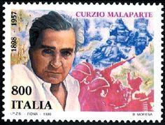 Centenario scrittori celebri - Curzio Malaparte - 1998. Pag. 6
