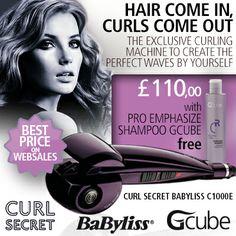 Babyliss Secret Curls + Gcube Free Gift!!!