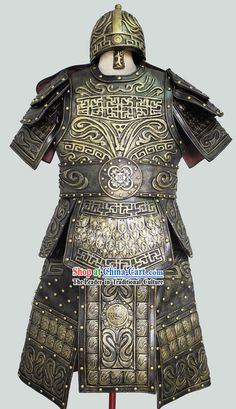 Ancient Chinese Antique Style Armor Uniforms for Men