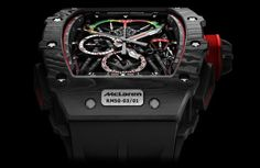 For SIHH 2017 Richard Mille introduces the RM McLaren the world's lightest tourbillon split-seconds chronograph made possible by Graphene. Richard Mille, Super Snake, Vin Diesel, Vintage Omega, Vintage Rolex, Cool Watches, Watches For Men, Men's Watches, New Mclaren