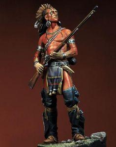 Delaware Warrior, XVIII Century.