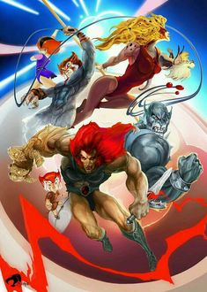 Thundercats screenshots, images and pictures - Comic Vine Comic Book Characters, Comic Book Heroes, Comic Books Art, Comic Art, Tv Anime, Anime Comics, Gi Joe, He Man Thundercats, Thundercats Cartoon