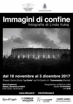 Inaugurato oggi presso il Centro Culturale La Corte Traversetolo Parma Via F.lli Cantini 8  18 novembre - 3 dicembre IMMAGINI DI CONFINE FOTOGRAFIE DI Linda Vukaj - http://ift.tt/1HQJd81
