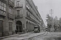 P.º de la Independencia 1925   Imagen capturada por el franc…   Flickr Street View, Home, Zaragoza, Pilgrim, Walks, Antique Photos, Paths, United States, Cities