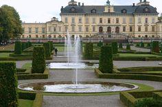 Švédsko, Štockholm-Drotningholm-Park 1