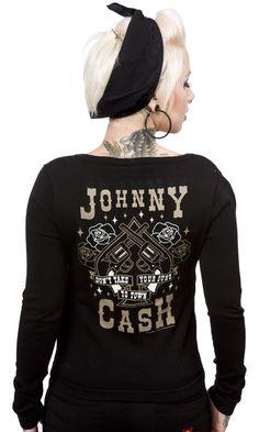 Johnny Cash Cardigan