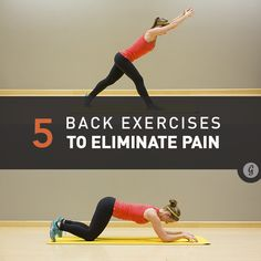 5 Simple Moves to Eliminate Low Back Pain for Good via @greatist