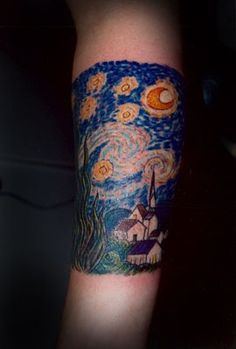 Starry Night Tattoo | Starry Night Tattoo
