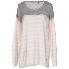 Only Jumper ($43) ❤ liked on Polyvore featuring tops, sweaters, white, cotton sweater, white jumper, long sleeve tops, long sleeve jumper and jumper top