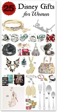 25+ Disney Gifts for Women #disney #disneysmmoms #disneyside