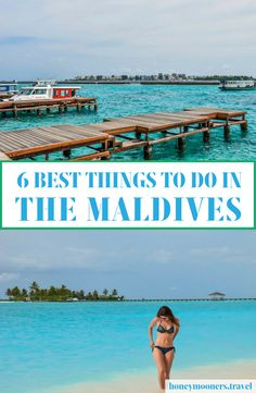 The 6 best things to do in The Maldives #Travel #travelblogger #Maldives