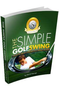The one plane golf swing!