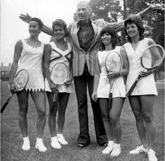 It all began with tennis player, Teddy Tingling, who, along with being an athlete, was a fashion designer as well.