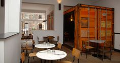 (EAT) Checkpoint Restaurant @ Edinburgh -- really cool and really good --  3 Bristo Place, Edinburgh, EH1 1EY  0131 225 9352