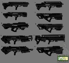 Old: Shatter Guns by ionen.deviantart.com on @deviantART