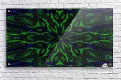 Green Poeny Acrylic Print