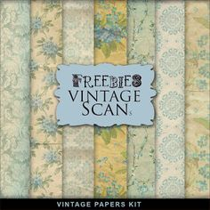 FREE Freebies Vintage Style Paper Kit : Far Far Hill