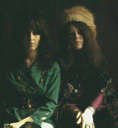 Janis Joplin & Grace Slick