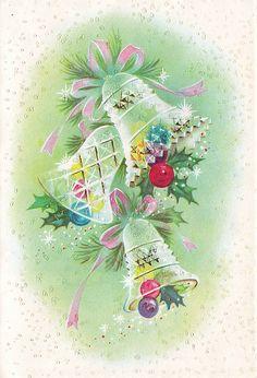 Vintage Greeting Card - Christmas