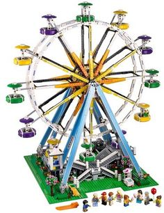 Cheap toys for, Buy Quality compatible lego technics directly from China block bricks Suppliers: New Large The ferris Wheel Model Building Block Bricks Compatible LegoINGLYS Technic City Bset Toys for Childrens Lego Batman, Lego Marvel, Spiderman, Model Building Kits, Lego Building, Star Wars Tie, Legos, Modele Lego, Buy Lego