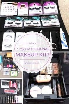 Awesome Feb 1 Whatu0027s In My Professional Makeup Kit?