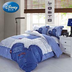 Mickey Mouse Memories Blue Disney Bedding Disney Bedding, Teen Bedding, Bedding Sets, Mickey Mouse Bed Set, Mickey Mouse Bathroom, Disney Bedrooms, Shared Rooms, Disney Home, Luxury Bedding