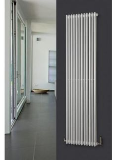 Titan Vertical Radiator Vertical Radiators, Designer Radiator, Towel Rail, Ground Floor, Old And New, New Homes, Home Appliances, Loft Ideas, Flooring
