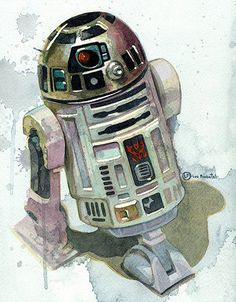 Not the Droid You're Looking For Star Wars R2D2 by itsLouPimentel