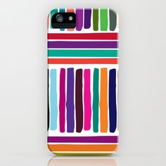 colorful stripes iPhone & iPod Case by aticnomar - $35.00 Ipod, Iphone Cases, Stripes, Colorful, Iphone Case, I Phone Cases, Ipods, Line Art