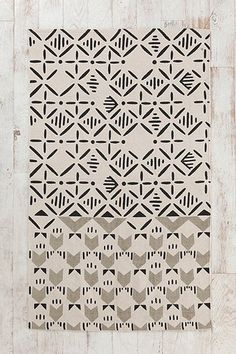 ++ magical thinking slice stamp rug