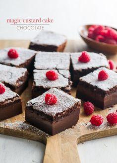 How To Make: Chocolate Magic Cake Recipe Dessert Reciper