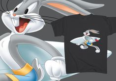 Bugs Bunny - Board master  http://www.toonshirts.com/products/looney-tunes/126-bugs-bunny-board-master