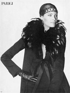 Photo by Irving Penn Cappotto Yves Saint Laurent Vogue Italia, ottobre 1969 www.workshopexperience.com