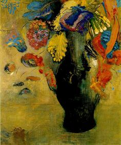 "Odilon Redon ""Flowers"""