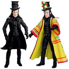 Child Catcher from Chitty Chitty Bang Bang would be a good costume.