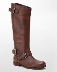 Dv By Dolce Vita Brown Zela Tall Leather Boots