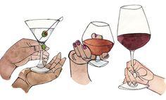 Cada bebida tem um jeito correto
