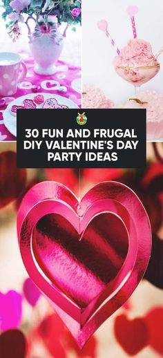 30 Fun and Frugal DIY Valentine s Day Party Ideas 30 Fun and Frugal DIY Valentine s Day Party Ideas Jane Sampsel Valentine s Day Ideas What kind of party or nbsp hellip Valentines date Fun Valentines Day Ideas, Valentines Day Date, Valentines Day Decorations, Diy Party Decorations, Valentines Diy, Hobby Lobby Decor, Hobbies For Women, Cheap Hobbies, Valentine's Day Diy