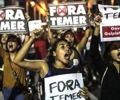 #FORATEMER: BRASIL CELEBRO SU DIA DE LA INDEPENDENCIA CON PROTESTAS EN LAS CALLES   Gritos de 'Fuera Temer' acompañaron festejo patrio en Brasil Brasilia 7 sep (PL) Gritos de ''Fuera Temer'' y ''Golpista'' acompañaron hoy aquí el inicio del desfile cívico-militar por el aniversario 194 de la independencia de Brasil presenciado por más de 30 mil personas según estimados extraoficiales. Contrariando la tradición el mandatario Michel Temer llegó a su palco en un vehículo cerrado -y no en el…