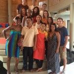 With out hosts at the Floating Leaf Eco Retreat.