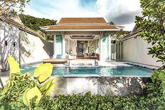 Luxusresort an der Thailand Westküste: Banyan Tree Krabi Krabi, Thailand, Hotels, Villa, Asia, Mansions, Luxury, House Styles, Outdoor Decor
