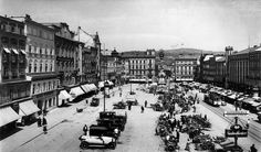 Hauptplatz Street View, Image, Linz, Historical Pictures