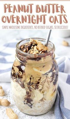 These rich and chocolaty 𝐏𝐞𝐚𝐧𝐮𝐭 𝐁𝐮𝐭𝐭𝐞𝐫 𝐎𝐯𝐞𝐫𝐧𝐢𝐠𝐡𝐭 𝐎𝐚𝐭𝐬 are packed with wholesome stuff: heart-healthy OATS, creamy peanut butter, and antioxidant-rich CACAO. + It's infused with energizing MACA. Satisfying and so good! ++ This deliciousness has NO REFINED SUGARS and it's super easy to make. #peanutbutter #peanutbutteroats #overnightoats #healthybreakfast #brakfastrecipe #breakfasttime #oats #breakfast #recipe #recipeshare #recipeoftheday #maca #chocolate…