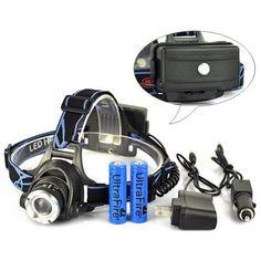 CREE XML XM-L T6 Pandelampe Led Lenser, In Ear Headphones, Create, Over Ear Headphones