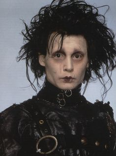 Edward Scissorhands. My first ever fear. Then my first love! This film is amazing