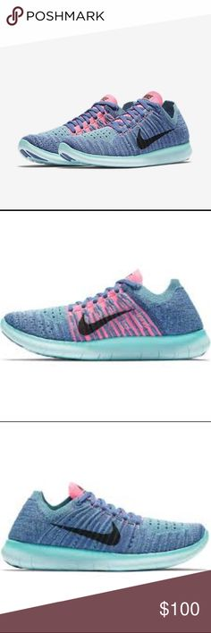 8aa09fbf9cc4 ❗️Only Two❗️Nike Free RN Flyknit New Women s Nike Free RN Flyknits in a  rare   amazing color combo!! I only have two of these available