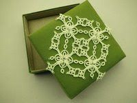 Book: Tatting together square motifs design from Ulla Bendtsen