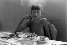 William Gale Gedney     Boy at Dinner Table, Kentucky       1971