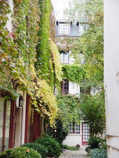 Cour du Bel Air 12e - Paris bucolique #10 : en passant par la rue du Faubourg St Antoine | Les flâneries d'Aurélie